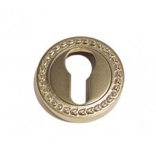 Накладка под цилиндр/ключ (античное серебро)