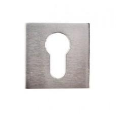 Накладка под цилиндр/ключ (хром матовый)