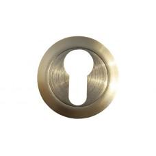 Накладка под цилиндр/ключ (никель матовый)