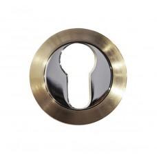 Накладка под цилиндр/ключ (никель матовый/хром)