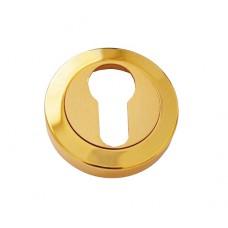 Накладка под цилиндр/ключ (золото/золото матовое)