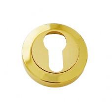 Накладка под цилиндр/ключ (латунь/латунь матовая)