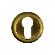 Накладка под цилиндр/ключ (старая бронза)