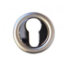 Накладка под цилиндр/ключ (хром полированный/хром матовый)