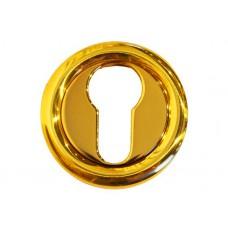 Накладка под цилиндр/ключ  (золото полированное)