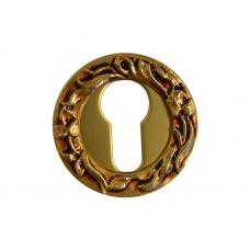 Накладка под цилиндр/ключ (французское золото)