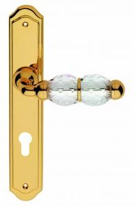 CRYSTAL SW ручка на планке (золото)