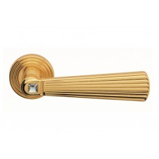 Opera Crystal ручка дверная (золото)