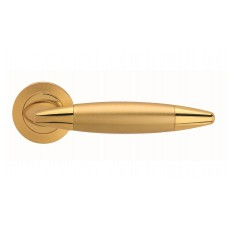 Havana ручка дверная (золото/золото матовое)