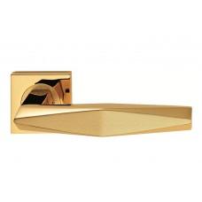 Prisma ручка дверная золото-золото матовое