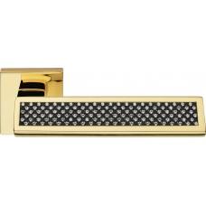 Riflesso Black ручка дверная (золото)