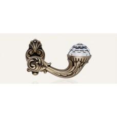 BrilliantСrystal ручка дверная (патина)