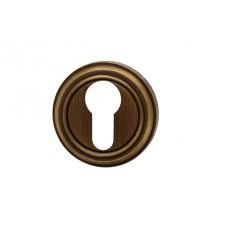 MONTANA накладка под цилиндр-ключ коричневая бронза