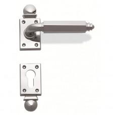 Ручка дверная Enrico Cassina (хром полированный)