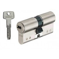 Цилиндр D15 Плоский ключ/ключ (никель)