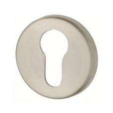 ALASKA накладка под цилиндр-ключ матовая нержавейка
