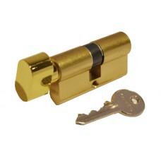 Цилиндр КЕ50 английский ключ-вороток (латунь матовая)