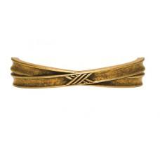 Ручка-скоба мебельная Giusti (старая бронза)