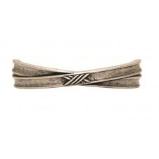 Ручка-скоба мебельная Giusti (старое серебро)
