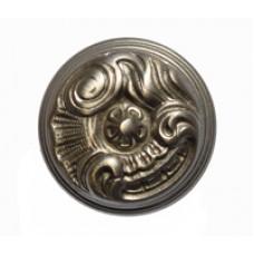 Ручка-кнопка мебельная Giusti (никель матовый)